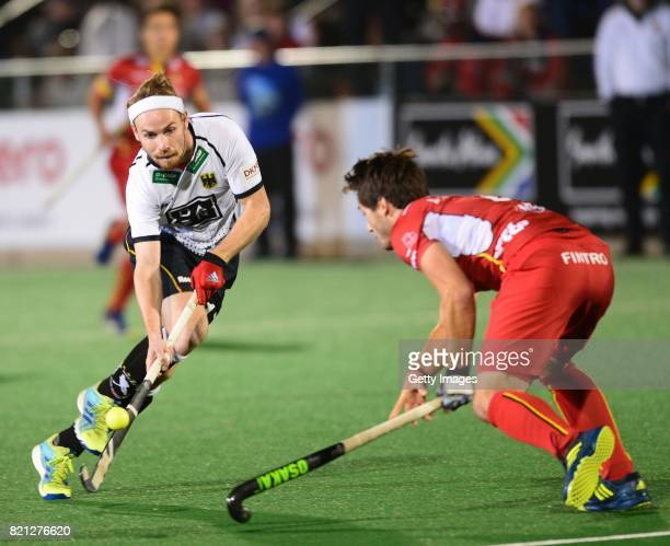 Christopher Ruhr of Germany during day 9 of the FIH Hockey World League Men's Semi Finals final match between Belgium and Germany at Wits University...