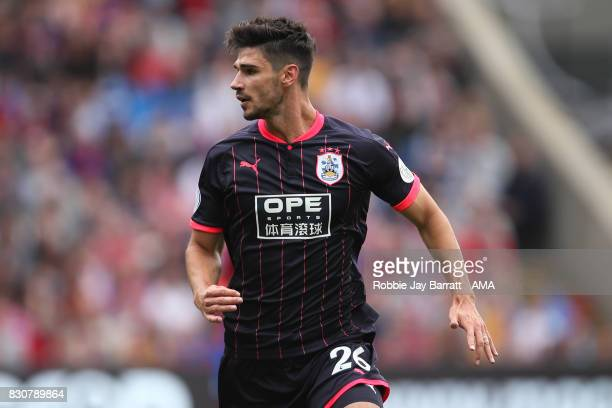 Christopher Schindler of Huddersfield Town during the Premier League match between Crystal Palace and Huddersfield Town at Selhurst Park on August 12...