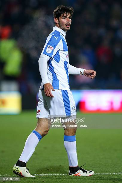 Christopher Schindler of Huddersfield Town during the Sky Bet Championship match between Huddersfield Town and Wigan Athletic at John Smith's Stadium...