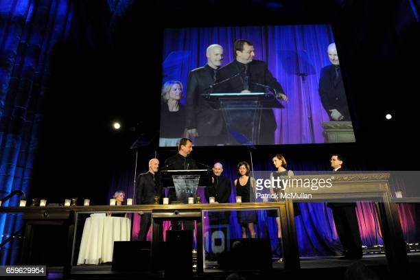 Christopher Sharples Gregg Pasquarelli William Sharples Coren Sharples and Kimberly Holden attend NATIONAL DESIGN AWARDS Gala at Cipriani 42 St on...