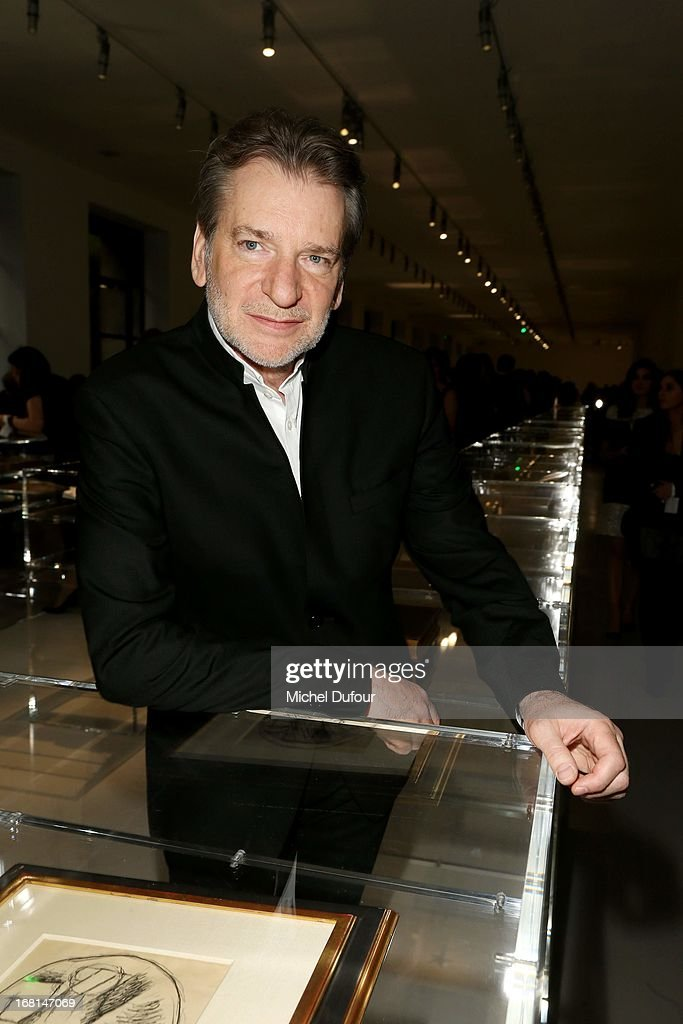 Christopher Sheldrake attends the 'No5 Culture Chanel' Exhibition - Photocall at Palais De Tokyo on May 3, 2013 in Paris, France.