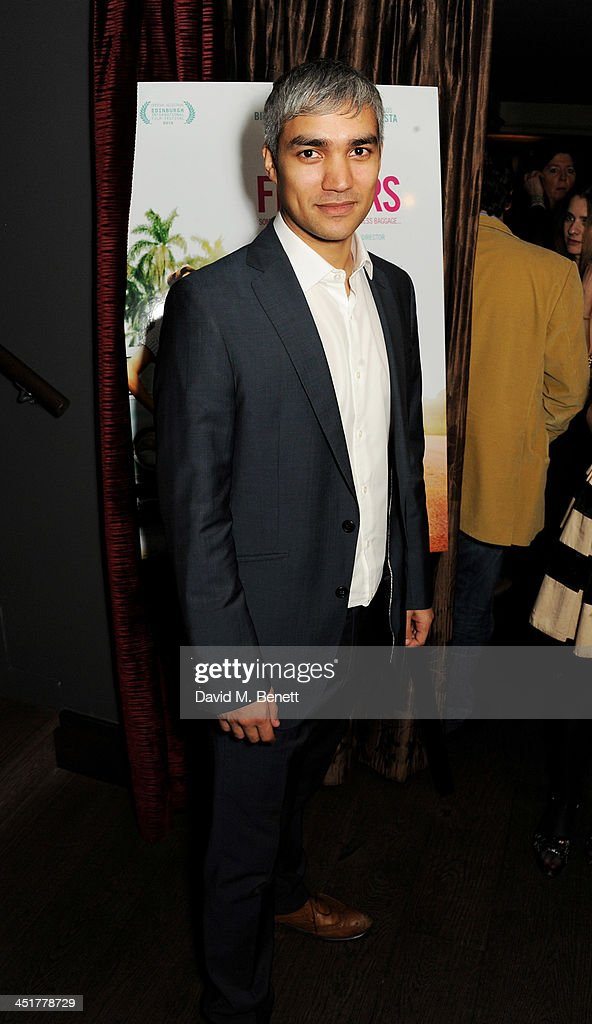 Christopher Simpson attends an after party celebrating the UK Premiere of 'Day Of The Flowers' at The Mayfair Hotel on November 24, 2013 in London, England.