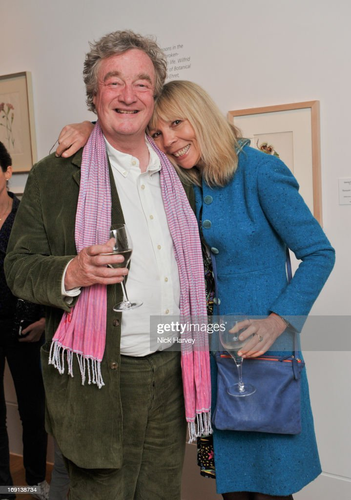 Christopher Sykes ad <a gi-track='captionPersonalityLinkClicked' href=/galleries/search?phrase=Penelope+Tree&family=editorial&specificpeople=878553 ng-click='$event.stopPropagation()'>Penelope Tree</a> attend Rory McEwen - The Colours of Reality at Kew Gardens on May 20, 2013 in London, England.