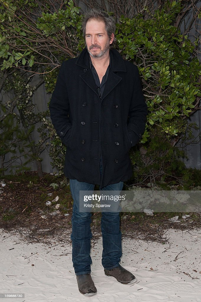 Christopher Thompson attends the Chanel Spring/Summer 2013 Haute-Couture show as part of Paris Fashion Week at Grand Palais on January 22, 2013 in Paris, France.