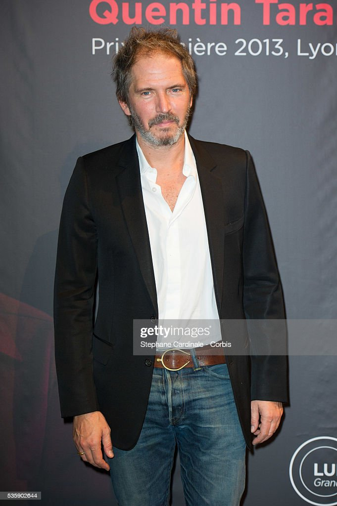 Christopher Thompson attends the Tribute to Quentin Tarantino, during the 5th Lumiere Film Festival, in Lyon.