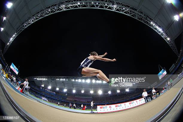 Christopher Tomlinson of Great Britain competes during the men's long jump final during day seven of 13th IAAF World Athletics Championships at Daegu...