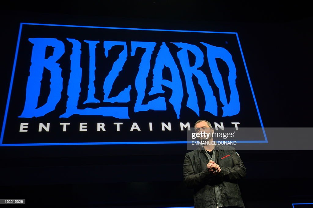 Christopher Vincent Metzen of Blizzard Entertainment talks as Sony introduces the PlayStation 4 at a news conference February 20, 2013 in New York.