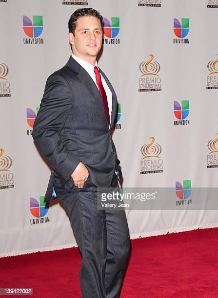 Christopher von Uckermann arrives at the Premio Lo Nuestro a La Musica Latina at American Airlines Arena on February 16 2012 in Miami Florida