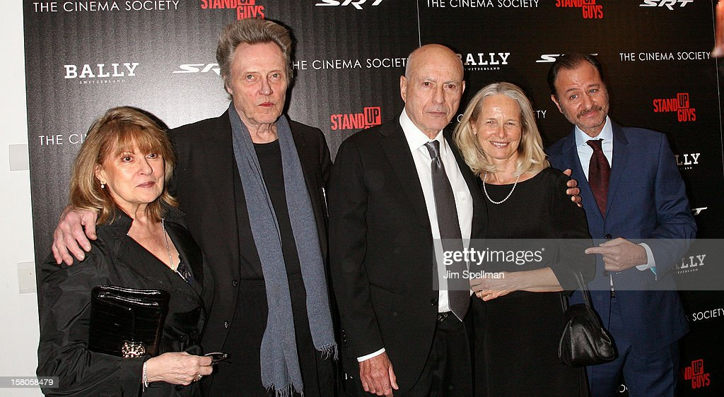Christopher Walken, Alan Arkin and director Fisher Stevens attend The Cinema Society With Chrysler & Bally premiere of 'Stand Up Guys' at Museum of Modern Art on December 9, 2012 in New York City.