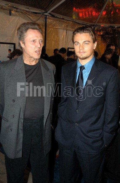 Christopher Walken and Leonardo DiCaprio...