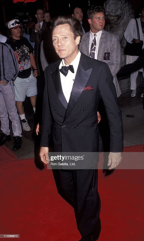 <a gi-track='captionPersonalityLinkClicked' href=/galleries/search?phrase=Christopher+Walken&family=editorial&specificpeople=209174 ng-click='$event.stopPropagation()'>Christopher Walken</a> during 'Batman Returns' Hollywood Premiere at Mann's Chinese Theatre in Hollywood, California, United States.