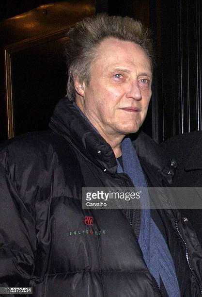 Christopher Walken during 'Raging Bull' 25th Anniversary and Collector's Edition DVD Release Celebration After Party at Cipriani's in New York City...