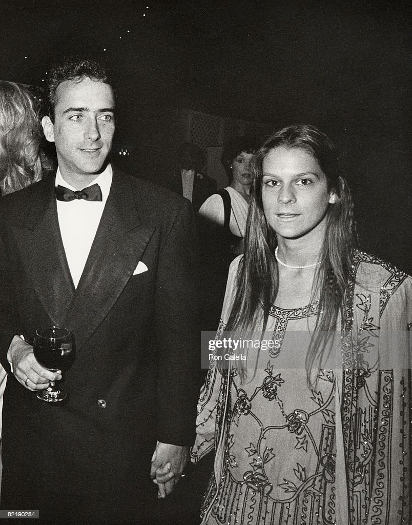 Christopher Wilding and Aileen Getty