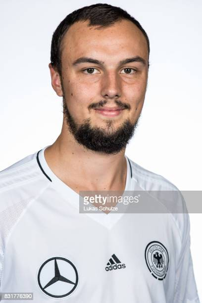 Christopher Wittig poses at Sport School Wedau on August 11 2017 in Duisburg Germany