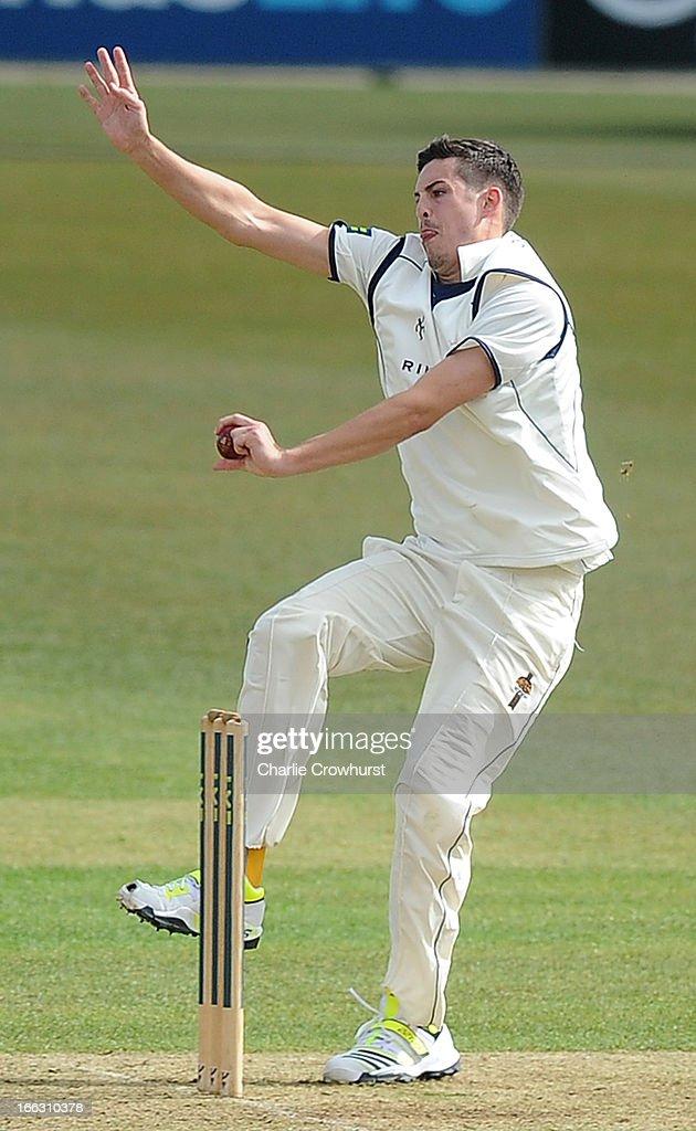 M Hogan Glamorgan Chris Wood Cricket Pla...