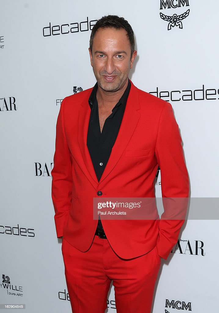 Christos Garkinos attends the Harper's BAZAAR celebration for the new Bravo series 'Dukes of Melrose' at The Terrace at Sunset Tower on February 28, 2013 in West Hollywood, California.