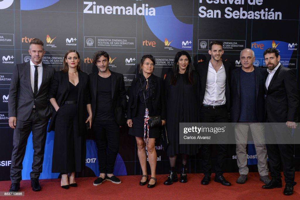 'Love Me Not' Photocall - 65th San Sebastian Film Festival