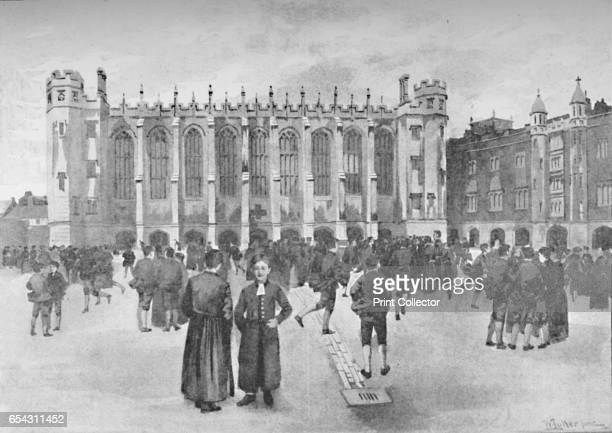 Christs Hospital Newgate Street Boys in playground 1891 Christs Hospital also called the Bluecoat School is an English coeducational independent day...