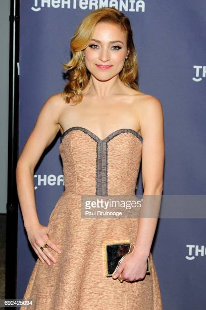 Christy Altomare attends 2017 Drama Desk Awards Arrivals at Anita's Way on June 4 2017 in New York City