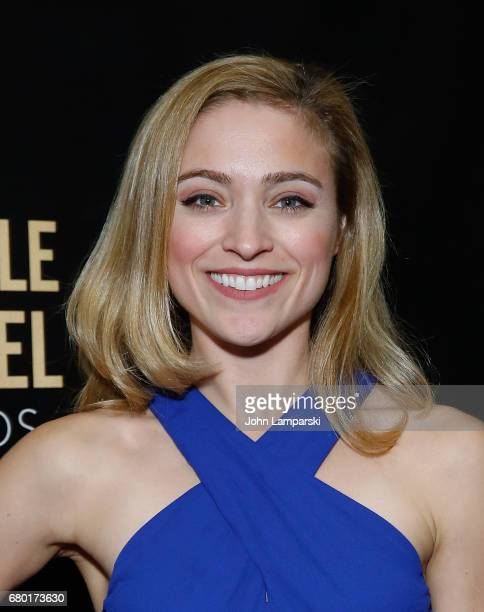 Christy Altomare attends 32nd Annual Lucille Lortle Awards at NYU Skirball Center on May 7 2017 in New York City