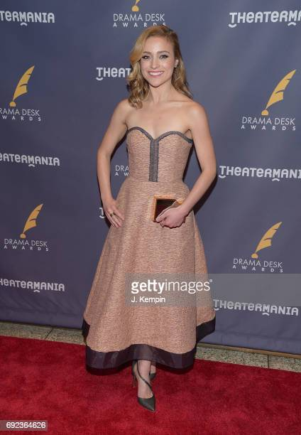 Christy Altomare attends the 2017 Drama Desk Awards at Anita's Way on June 4 2017 in New York City