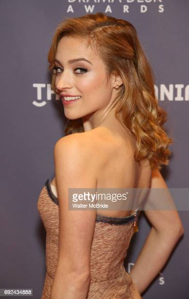 Christy Altomare attends the 2017 Drama Desk Awards at Town Hall on June 4 2017 in New York City