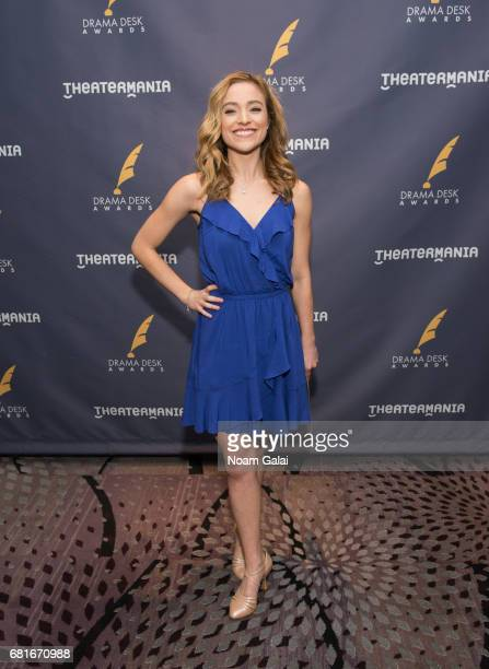 Christy Altomare attends the 2017 Drama Desk Nominees Reception at Marriott Marquis Times Square on May 10 2017 in New York City