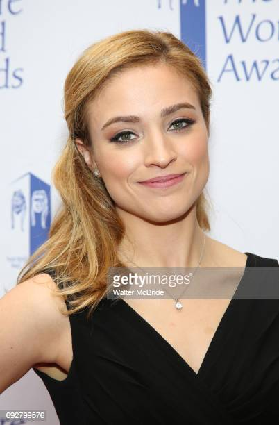 Christy Altomare attends the 73rd Annual Theatre World Awards at The Imperial Theatre on June 5 2017 in New York City