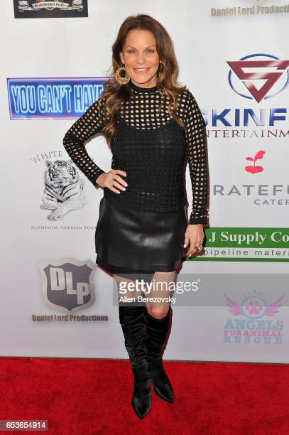 Christy Buss attends the premiere of Skinfly Entertainment's 'You Can't Have It' at TCL Chinese Theatre on March 15 2017 in Hollywood California