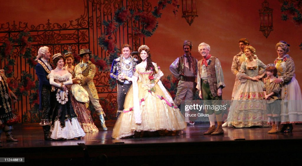 Christy Carlson Romano during Opening Night of Christy Carlson Romano in 'Beauty and The Beast' on Broadway at The LuntFontainne Theater/New...