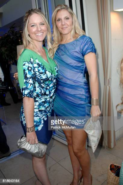 Christy Chittenden and Anne Crowninshield attend GQ World Oceans Day Party at Sunset Tower Hotel on June 8 2010 in West Hollywood California