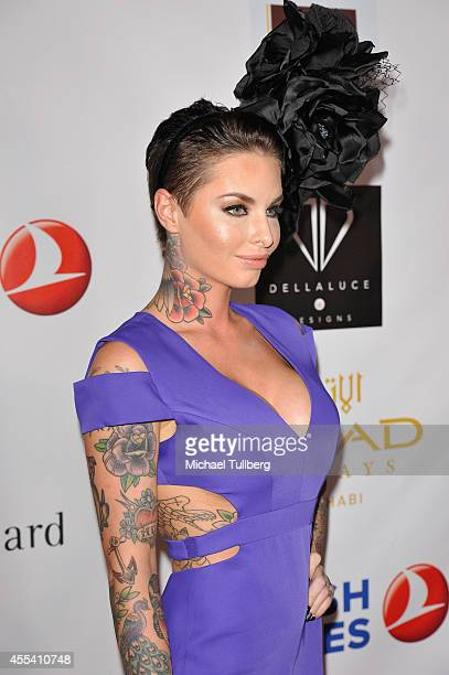 Christy Mack attends the Face Forward Foundation's 5th Annual Charity Gala Supporting Victims of Domestic Abuse at Millennium Biltmore Hotel on...