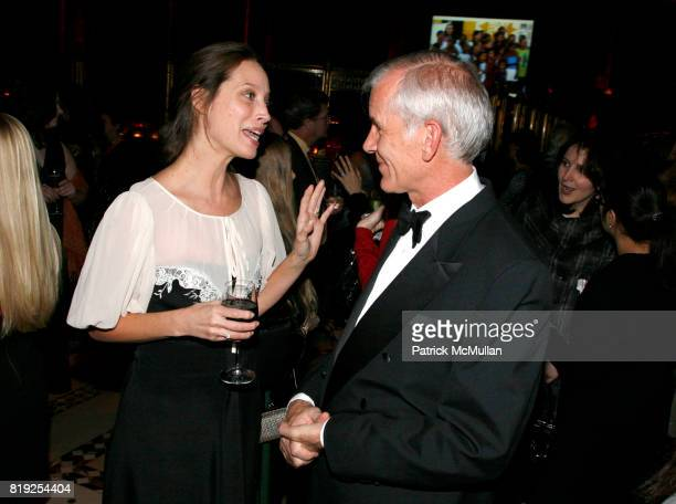 Christy Turlington and Dr Brian Brink attend INTERNATIONAL WOMEN'S HEALTH COALITION Annual Gala at Cipriani 42nd St on February 3rd 2010 in New York...