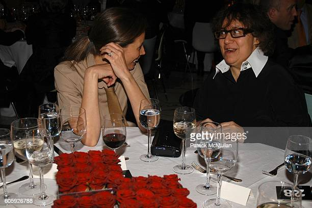 Christy Turlington and Ingrid Sischy attend VANITY FAIR Tribeca Film Festival Party hosted by Graydon Carter and Robert DeNiro at The State Supreme...