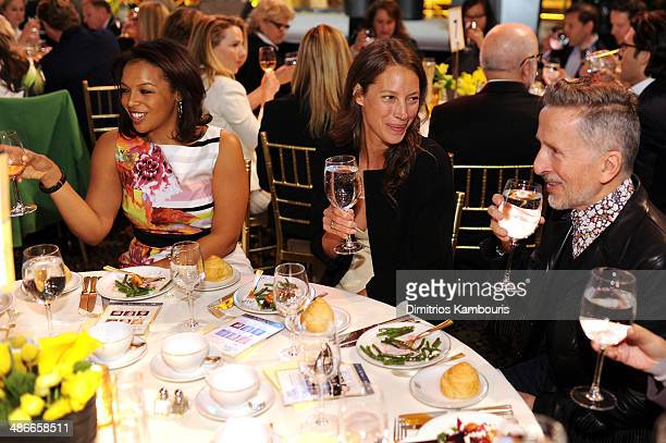 Christy Turlington and Simon Doonan attend Variety Power Of Women New York presented by FYI at Cipriani 42nd Street on April 25 2014 in New York City