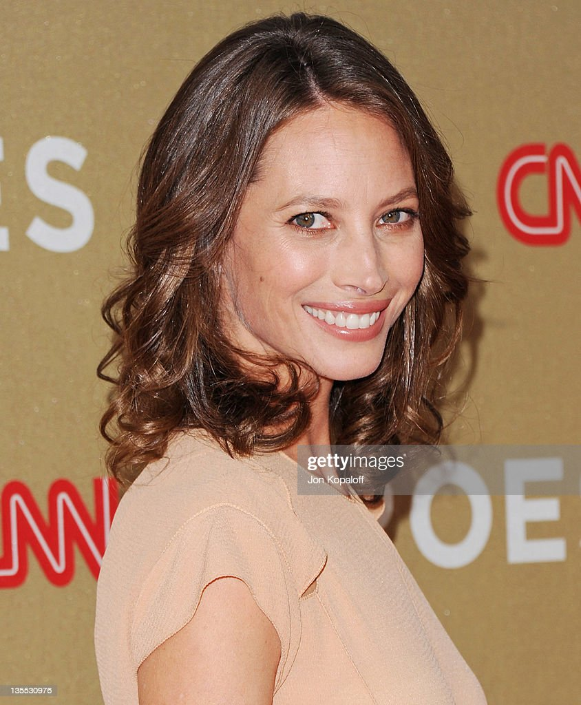 Christy Turlington arrives at the 2011 CNN Heroes: An All-Star Tribute at The Shrine Auditorium on December 11, 2011 in Los Angeles, California.