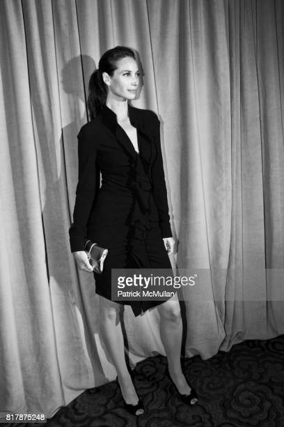Christy Turlington attends The 5th Important Dinner for Women at Mandarin Oriental on September 20 2010 in New York City