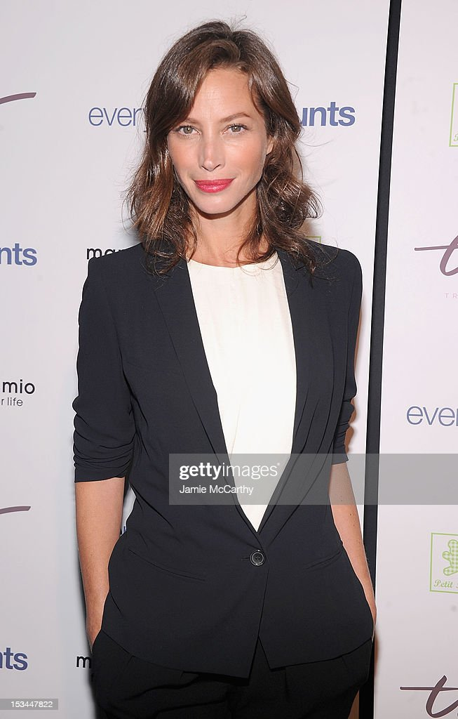Christy Turlington attends The Tracy Anderson Method Pregnancy Project at Le Bain At The Standard on October 5, 2012 in New York City.