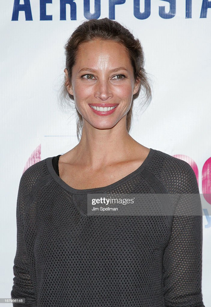 Christy Turlington attends Z100's Jingle Ball 2012, presented by Aeropostale, at Madison Square Garden on December 7, 2012 in New York City.