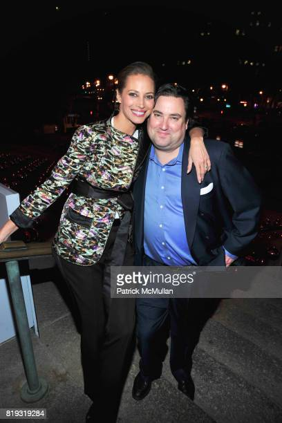 Christy Turlington Burns and Carter Burden attend VANITY FAIR TRIBECA FILM FESTIVAL Opening Night Dinner Hosted by ROBERT DE NIRO GRAYDON CARTER and...