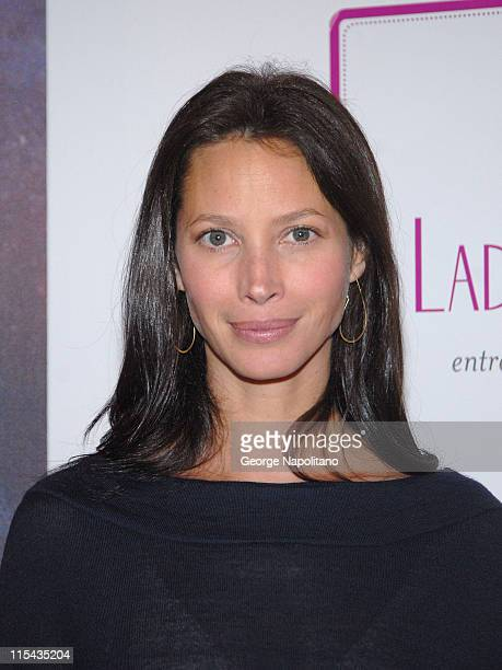 Christy Turlington Burns at the 'Ladies Who Launch Live' at the Altman Building in New York City on October 18 2007