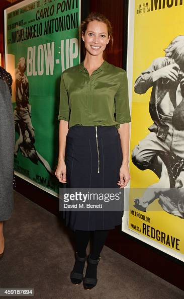 Christy Turlington Burns attends a screening hosted by PORTER in honour of cover girl Christy Turlington Burns and her charity Every Mother Counts at...