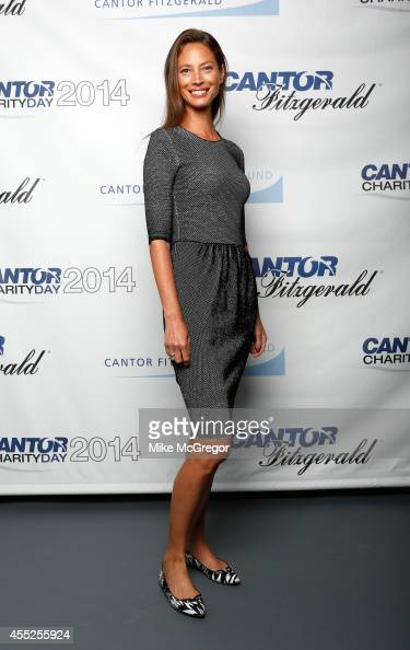 Christy Turlington Burns attends Annual Charity Day Hosted By Cantor Fitzgerald And BGC at Cantor Fitzgerald on September 11 2014 in New York City