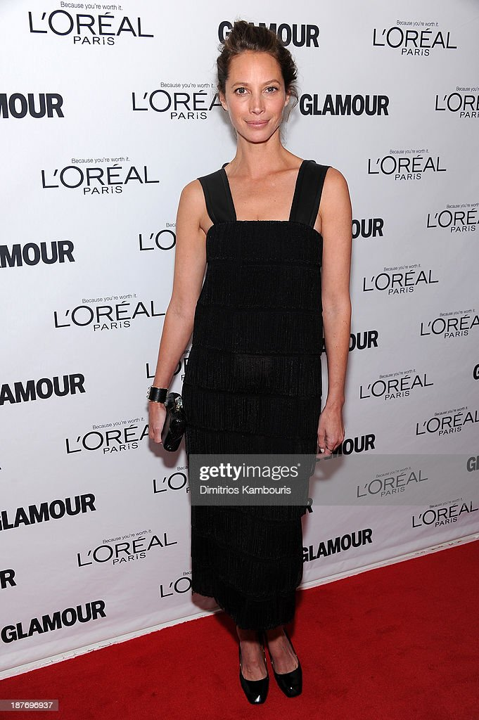 <a gi-track='captionPersonalityLinkClicked' href=/galleries/search?phrase=Christy+Turlington&family=editorial&specificpeople=207046 ng-click='$event.stopPropagation()'>Christy Turlington</a> Burns attends Glamour's 23rd annual Women of the Year awards on November 11, 2013 in New York City.