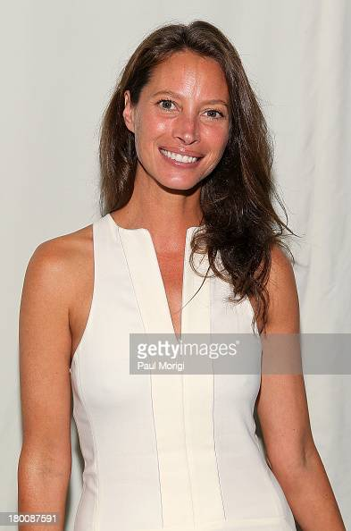 Christy Turlington Burns attends the Edun show during Spring 2014 MercedesBenz Fashion Week at Skylight Modern on September 8 2013 in New York City