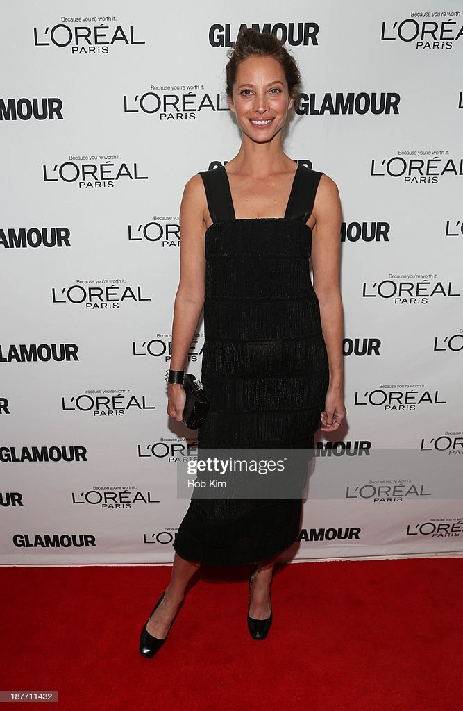 <a gi-track='captionPersonalityLinkClicked' href=/galleries/search?phrase=Christy+Turlington&family=editorial&specificpeople=207046 ng-click='$event.stopPropagation()'>Christy Turlington</a> Burns attends the Glamour Magazine 23rd annual Women Of The Year gala on November 11, 2013 in New York, United States.