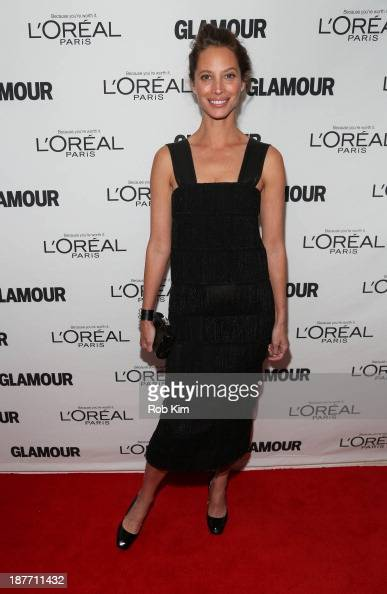 Christy Turlington Burns attends the Glamour Magazine 23rd annual Women Of The Year gala on November 11 2013 in New York United States
