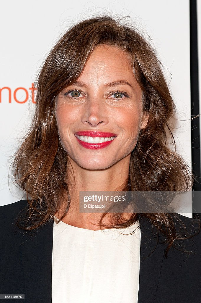 Christy Turlington Burns attends The Tracy Anderson Method Pregnancy Project at Le Bain At The Standard on October 5, 2012 in New York City.