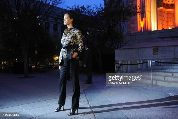 Christy Turlington Burns attends VANITY FAIR TRIBECA FILM FESTIVAL Opening Night Dinner Hosted by ROBERT DE NIRO GRAYDON CARTER and RONALD PERELMAN...