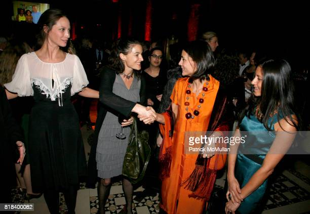 Christy Turlington Dallas Rexler Veronique Pittman and Marisa VianaAitchison attend INTERNATIONAL WOMEN'S HEALTH COALITION Annual Gala at Cipriani...